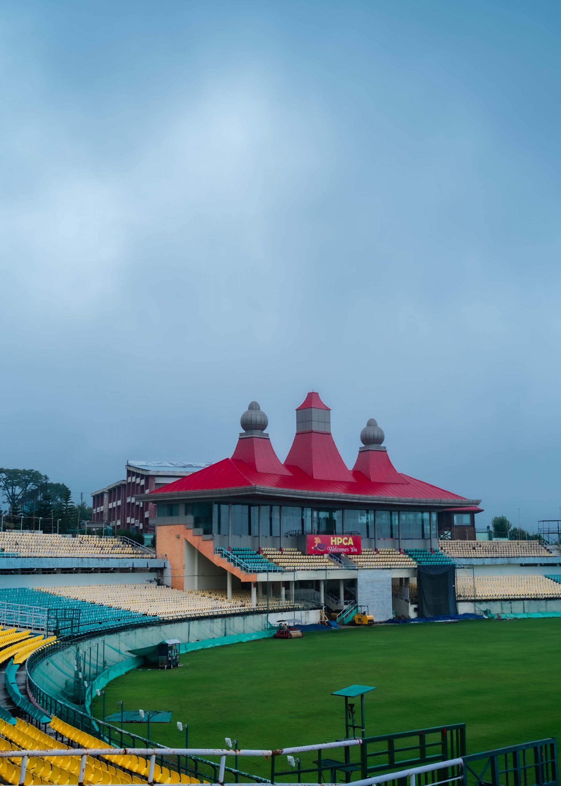 Take a tour to Worlds Highest Cricket Stadium